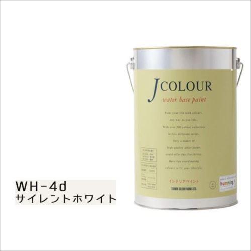 ターナー色彩 水性インテリアペイント Jカラー 4L サイレントホワイト JC40WH4D(WH-4d)  【abt-1152462】【APIs】