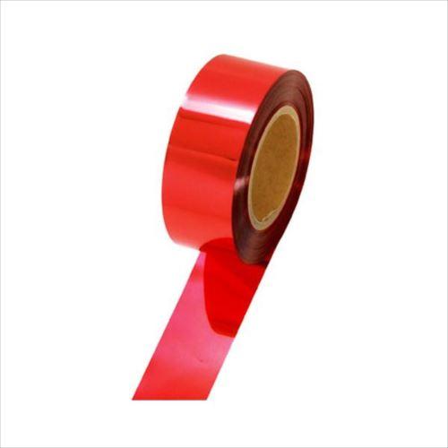 ササガワ タカ印 40-4476 メッキテープ 赤 50mm×200m  【abt-1178385】【APIs】