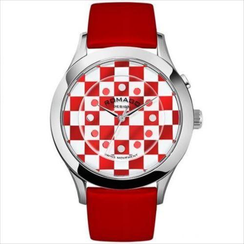 ROMAGO DESIGN (ロマゴデザイン) Fashioncode series ファッションコードシリーズ 腕時計 RM052-0314ST-RDWH  【abt-1285244】【APIs】
