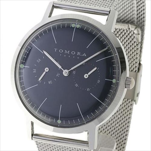 TOMORA TOKYO(トモラ トウキョウ) 腕時計 T-1603-BL  【abt-1285275】【APIs】