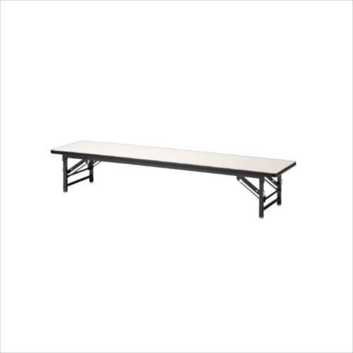 ニシキ工業 ZT FOLDING TABLE テーブル 脚部/ダークグレー・天板/アイボリー・ZT-D1545S-IV  【abt-1521495】【APIs】