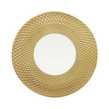 Luzerne CANVAS COL LEONIS コル レオニス 30.5cm ショープレート GOLD/WHITE CL5131GW  【abt-1565189】【APIs】