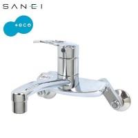 三栄水栓 SANEI キッチン用(壁付) シングル混合栓 K2710E-13  【abt-1016862】【APIs】