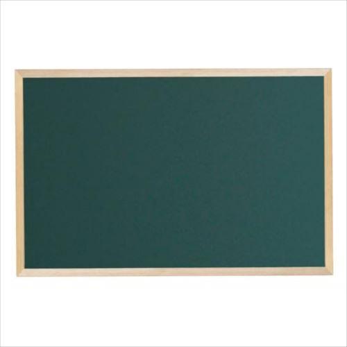 馬印 木枠ボード スチールグリーン黒板 900×600mm WOS23  【abt-1017077】【APIs】
