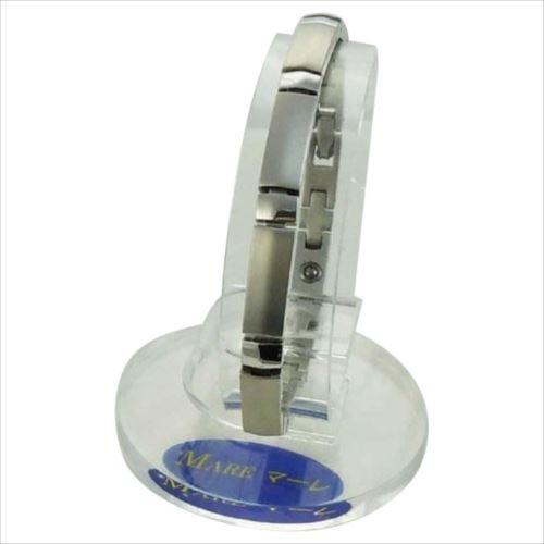 MARE(マーレ) ゲルマニウムブレスレット PT/IP ミラー/マット 173S (16.15cm) H9392-01S  【abt-1053837】【APIs】