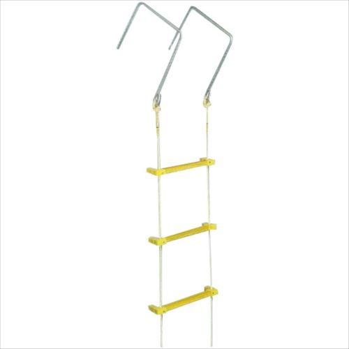 八ツ矢工業(YATSUYA) 縄はしご 大カギ付 5m 12030  【abt-1065092】【APIs】