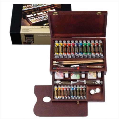 REMBRANDT レンブラント油絵具 ラグジュアリーボックス24色セット T0184-0002 410863  【abt-8000bg】【APIs】