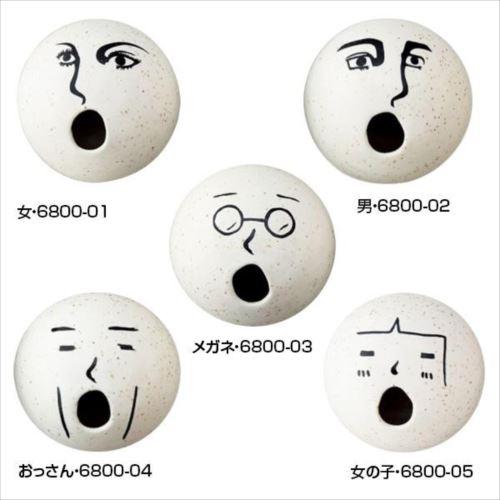 <title>ゆるい表情がとってもかわいい 三郷陶器 キャンペーンもお見逃しなく Sango OMOSHIRO オモシロ 一輪挿し 顔 abt-1347715 APIs</title>