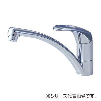 三栄 SANEI Modello シングルワンホール混合栓 K876JV-13  【abt-1358046】【APIs】
