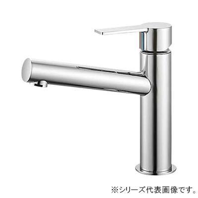 三栄 SANEI column シングルワンホール洗面混合栓 寒冷地用 K4750NK-13  【abt-1358174】【APIs】