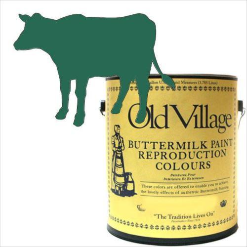 Old Village バターミルクペイント ファンシー チェア グリーン 3785mL 605-03051 BM-0305G  【abt-1392949】【APIs】