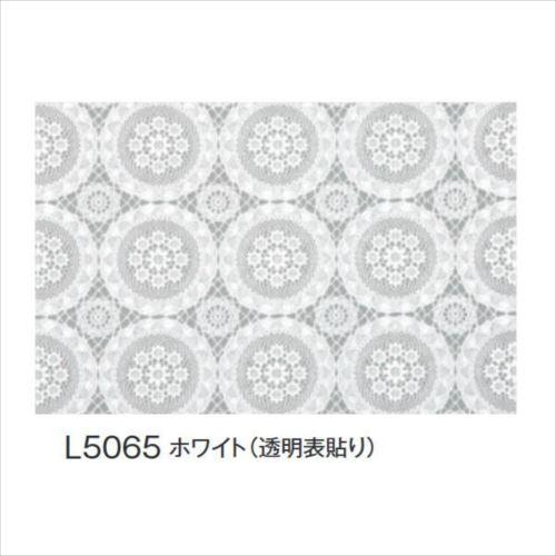 富双合成 テーブルクロス FGラミネートレース(狭幅) 約50cm幅×20m巻 L5065 ホワイト(透明表貼り)  【abt-1395800】【APIs】