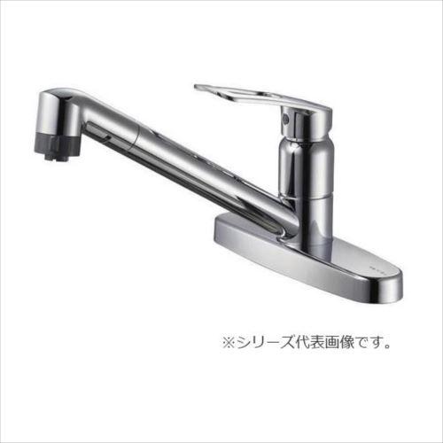 SANEI シングル台付切替シャワー混合栓 K6711MEK-13  【abt-1405696】【APIs】