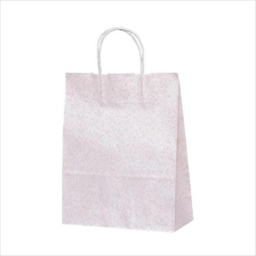 T-X 自動紐手提袋 紙袋 紙丸紐タイプ 260×110×330mm 200枚 フロスティ(ピンク) 1587  【abt-1423557】【APIs】