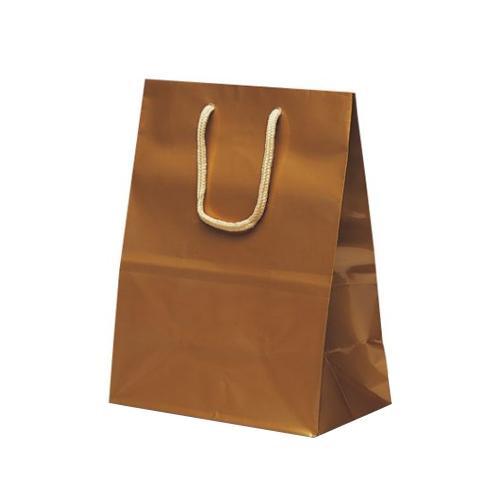 ミニバッグ 手提袋 190×110×250mm 100枚 ゴールド 1511  【abt-1423714】【APIs】