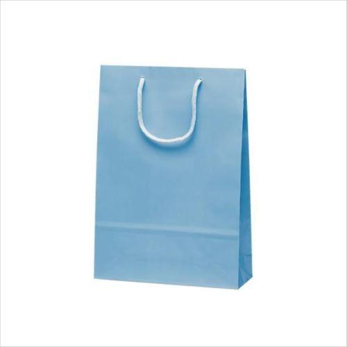 ナイスバッグ 手提袋 225×80×320mm 50枚 ブルー 1157  【abt-1423721】【APIs】