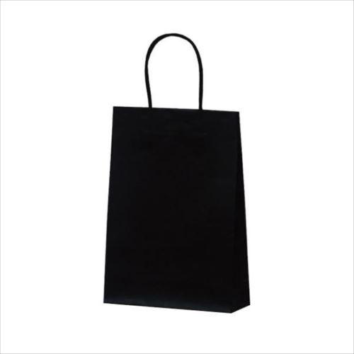 マットバッグ(S) 手提袋 225×80×320mm 50枚 ブラック 1068  【abt-1423753】【APIs】