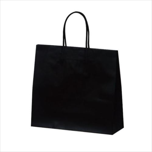 マットバッグ(M) 手提袋 320×110×290mm 50枚 ブラック 1069  【abt-1423758】【APIs】