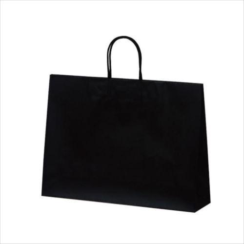 マットバッグ(Y) 手提袋 430×110×320mm 50枚 ブラック 1071  【abt-1423766】【APIs】