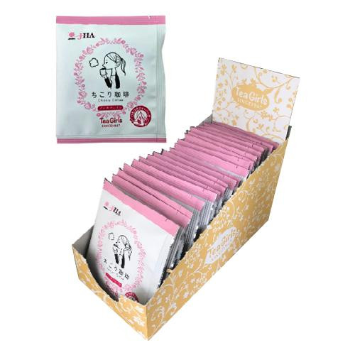Tea Girls ちこり珈琲1p 2g×20袋 6個  【abt-1424914】【APIs】 (軽税)