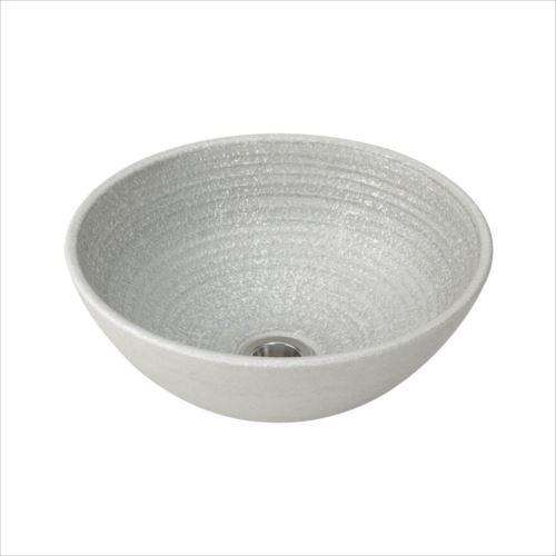 置き型手洗器Φ280(パールポーセリン・シリーズ/銀鼠) LSP-GN  【abt-1439431】【APIs】