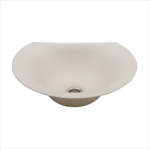置き型手洗器Φ330(モノクローム・シリーズ/練色) LSM4C-NE  【abt-1439461】【APIs】