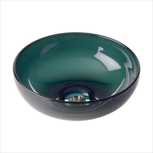 置き型手洗器Φ270(ムーングラス・シリーズ/ダークスモーク) CB1-DS  【abt-1439481】【APIs】