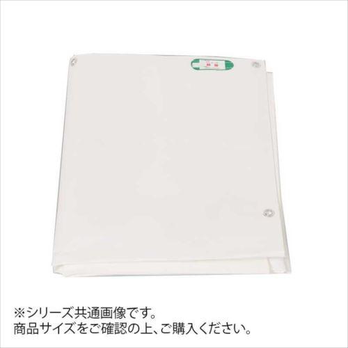 萩原工業 日本製 PE防炎シート ホワイト 10m×10m  【abt-1442925】【APIs】