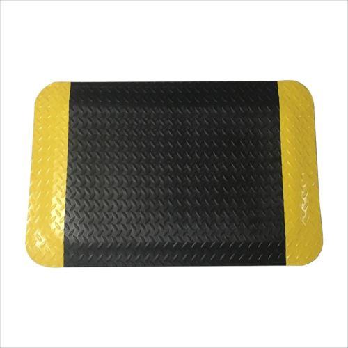 高耐久疲労軽減マット 60x90cm 厚さ12mm 黒/黄色 J2345  【abt-1474247】【APIs】