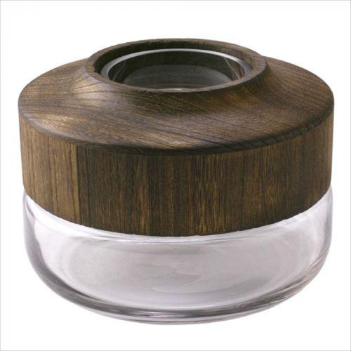 <title>木のぬくもりを感じるガラスベース セール品 SPICE BOLD フラワーベース ロー DGGZ1020 abt-1484980 APIs</title>