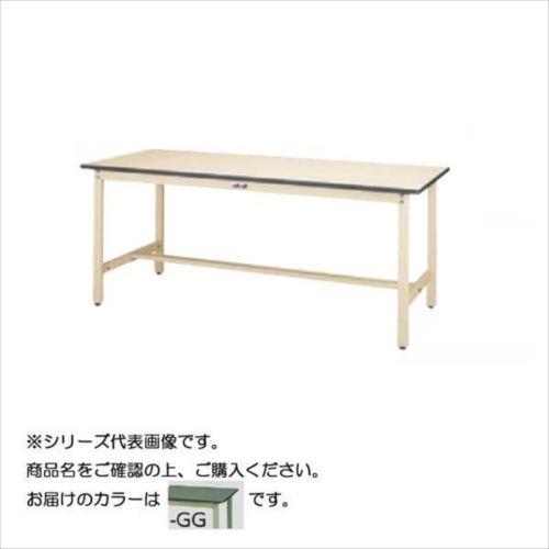 SWR-1860-GG+S3-G ワークテーブル 300シリーズ 固定(H740mm)(3段(浅型W394mm)キャビネット付き)  【abt-1497477】【APIs】