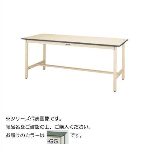 SWR-1860-GG+L1-G ワークテーブル 300シリーズ 固定(H740mm)(1段(浅型W500mm)キャビネット付き)  【abt-1497658】【APIs】