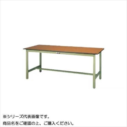 SWPH-1560-MG+L1-G ワークテーブル 300シリーズ 固定(H900mm)(1段(浅型W500mm)キャビネット付き)  【abt-1497714】【APIs】