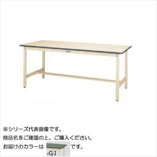 SWRH-960-GI+L1-IV ワークテーブル 300シリーズ 固定(H900mm)(1段(浅型W500mm)キャビネット付き)  【abt-1497773】【APIs】