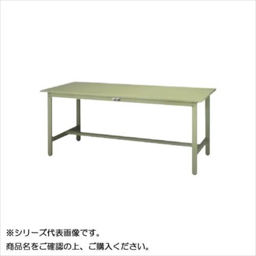 SWS-1575-GG+L2-G ワークテーブル 300シリーズ 固定(H740mm)(2段(浅型W500mm)キャビネット付き)  【abt-1497865】【APIs】