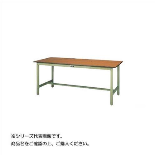 SWPH-960-MG+L2-G ワークテーブル 300シリーズ 固定(H900mm)(2段(浅型W500mm)キャビネット付き)  【abt-1497890】【APIs】
