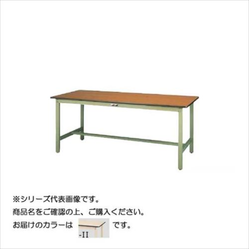 SWPH-1875-II+L2-IV ワークテーブル 300シリーズ 固定(H900mm)(2段(浅型W500mm)キャビネット付き)  【abt-1497893】【APIs】