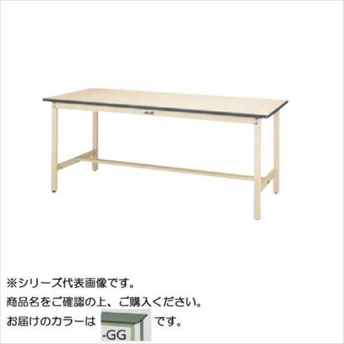 SWR-1860-GG+L3-G ワークテーブル 300シリーズ 固定(H740mm)(3段(浅型W500mm)キャビネット付き)  【abt-1498002】【APIs】