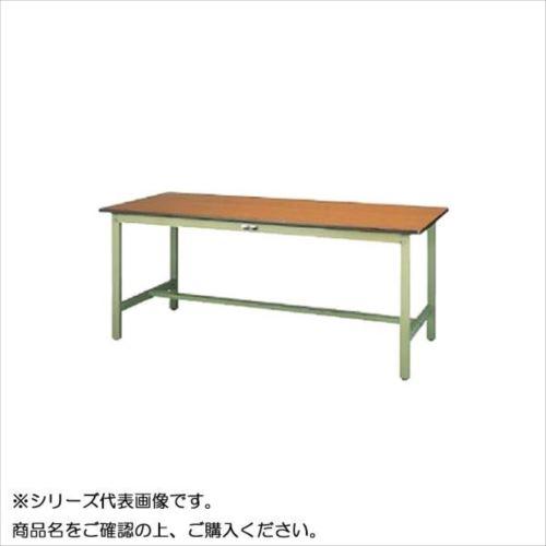 SWP-1575-MG+D1-G ワークテーブル 300シリーズ 固定(H740mm)(1段(深型W500mm)キャビネット付き)  【abt-1498143】【APIs】