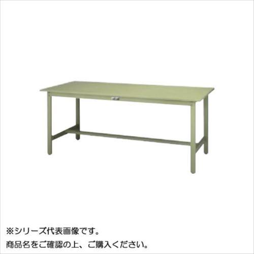SWS-1590-GG+D1-G ワークテーブル 300シリーズ 固定(H740mm)(1段(深型W500mm)キャビネット付き)  【abt-1498208】【APIs】