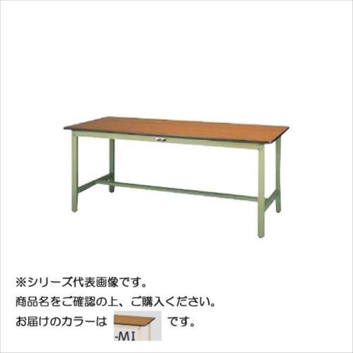 SWPH-1560-MI+D1-IV ワークテーブル 300シリーズ 固定(H900mm)(1段(深型W500mm)キャビネット付き)  【abt-1498252】【APIs】