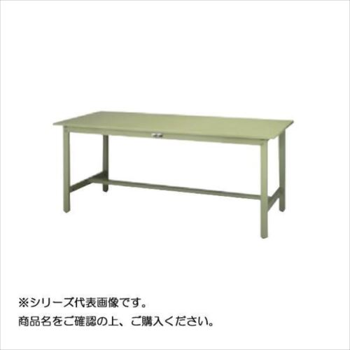 SWSH-1860-GG+D1-G ワークテーブル 300シリーズ 固定(H900mm)(1段(深型W500mm)キャビネット付き)  【abt-1498293】【APIs】