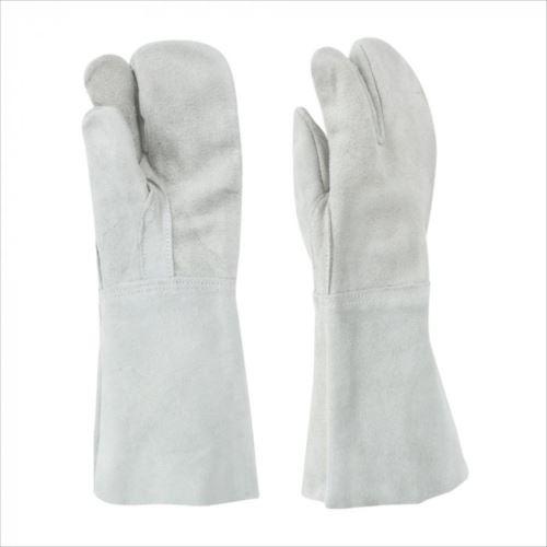 東和コーポレーション(TOWA) 溶接用手袋 床革3本指 W-333 12双 460 フリーサイズ  【abt-1537615】【APIs】