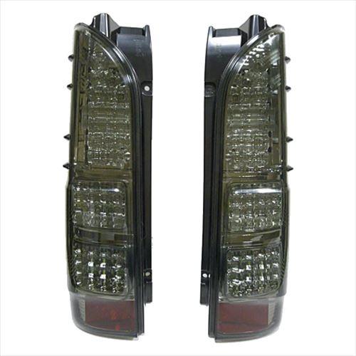 SoulMates 200系ハイエース カスタム用フルLEDテールランプ 4型風 スモーク GTT-004  【abt-1157771】【APIs】