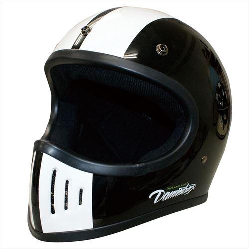 ダムトラックス(DAMMTRAX) バイクヘルメット THE BLASTER COBRA-改 BLACK L  【abt-1281427】【APIs】