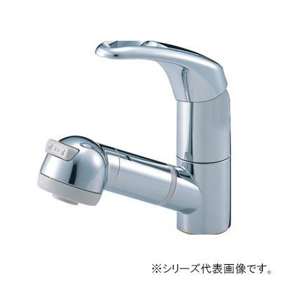 三栄 SANEI Modello シングルスプレー混合栓(洗髪用) 寒冷地用 K3763JK-C-13  【abt-1358146】【APIs】