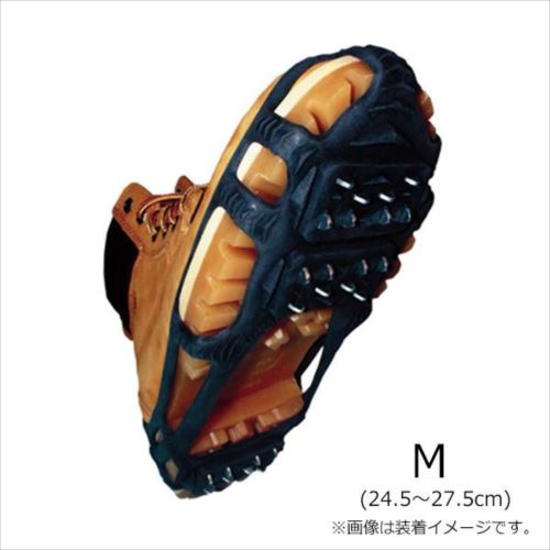 スタビルアイサーライト・スノー&アイスウォーカー ブラック M(24.5~27.5cm) NRSTL-BK-04  【abt-1210951】【APIs】