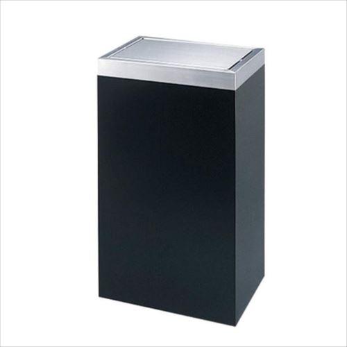 ぶんぶく ロータリースタンド 平トップタイプ(角胴) 45L ブラック RS-X-4 【abt-1346789】【APIs】