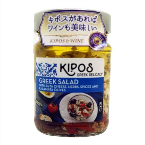 キポス フェタチーズオイル漬け オリーブ、レッドペッパー入り 230g×6個  【abt-1395481】【APIs】 (軽税)