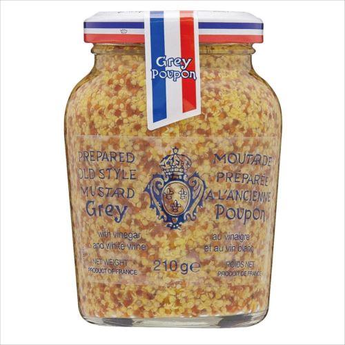 Grey Poupon(グレープポン) オールドスタイル(種入り) 210g×12個セット  【abt-1403981】【APIs】 (軽税)